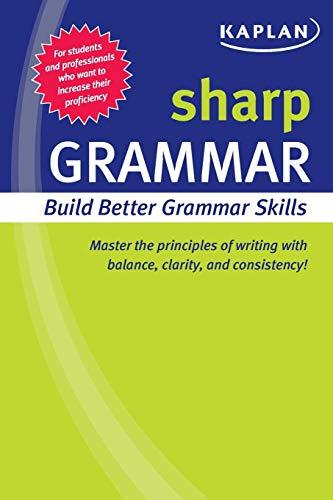 9781419550300: Sharp Grammar: Building Better Grammar Skills (Sharp Series)