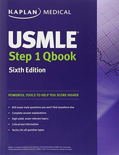 USMLE Step 1 QBook (USMLE Prep): Kaplan