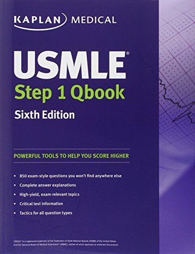 USMLE Step 1 QBook (Kaplan Medical Books) by Kaplan: Kaplan