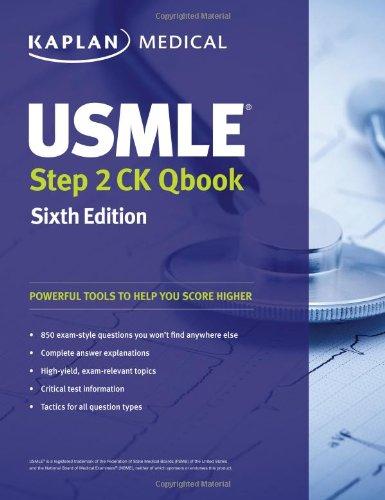 9781419550485: USMLE Step 2 Ck Qbook (Kaplan Medical)