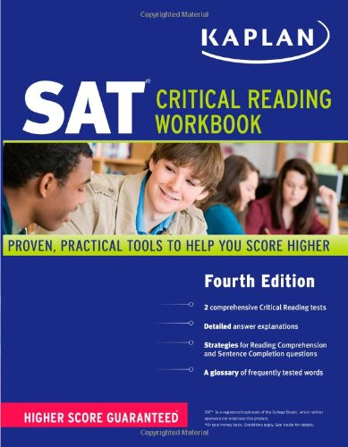 9781419550690: Kaplan SAT Critical Reading Workbook