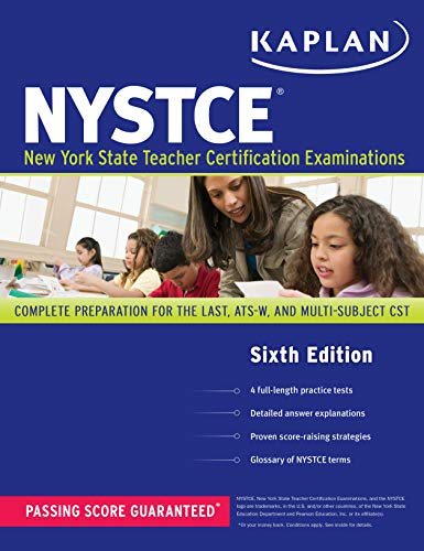 9781419550720: Kaplan NYSTCE: Complete Preparation for the LAST, ATS-W, and Multi-Subject CST (Kaplan Test Prep)