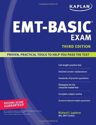 9781419550959: Kaplan EMT-Basic Exam