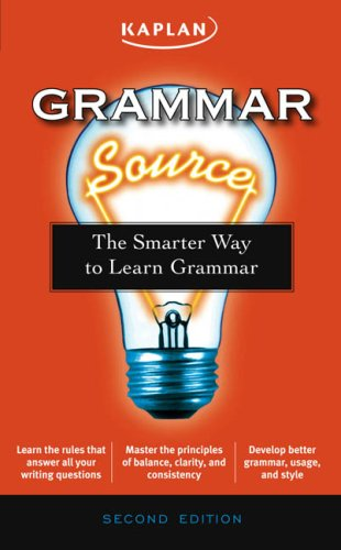 9781419551208: Grammar Source: The Smarter Way to Learn Grammar (Kaplan Grammar Source)