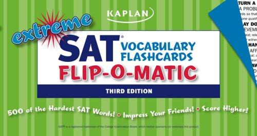 9781419551567: Extreme SAT Flashcards Flip-O-Matic