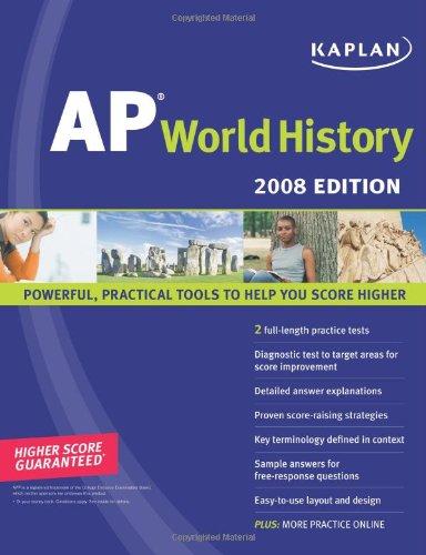 9781419551758: Kaplan AP World History, 2008 Edition