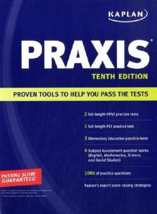 9781419551772: Kaplan PRAXIS 2009 Edition