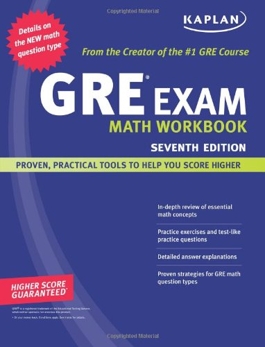 9781419552212: Kaplan GRE Exam Math Workbook (Kaplan GRE Math Workbook)