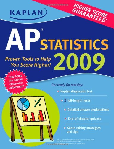9781419552465: Kaplan AP Statistics 2009