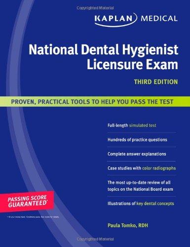 Kaplan Medical National Dental Hygienist Licensure Exam: Tomko, Paula