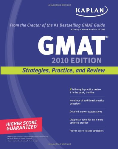 9781419552946: Kaplan GMAT 2010: Strategies, Practice, and Review