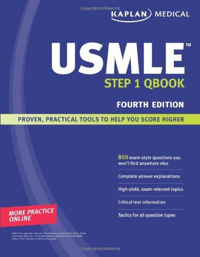 9781419553158: Kaplan Medical USMLE Step 1 Qbook