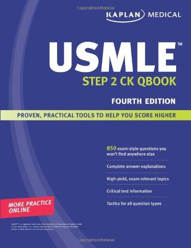 9781419553165: Kaplan Medical USMLE Step 2 CK Qbook