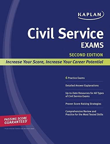Kaplan Civil Service Exams (Kaplan Test Prep): Kaplan