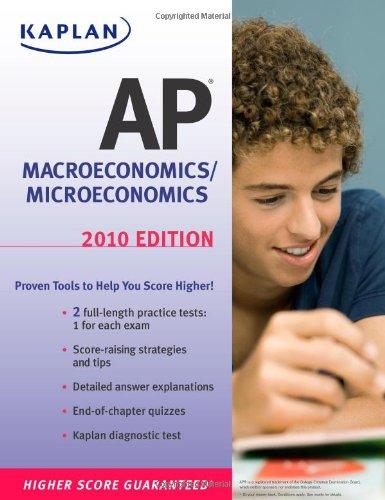 9781419553332: Kaplan AP Macroeconomics/Microeconomics 2010