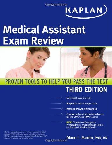 Kaplan Medical Assistant Exam Review: Martin PhD RN, Diann L., Kaplan