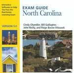 9781419587382: Exam Guide North Carolina: Version 5.0: Interactive Software to Help You Pass the Real Estate Licensing Exam