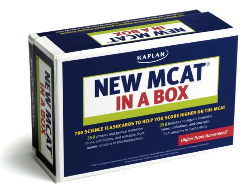 9781419591273: Kaplan New MCAT in a Box