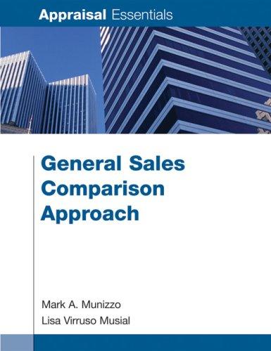 9781419592669: General Sales Comparison Approach (Appraisal Essentials)