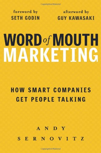 9781419593338: Word of Mouth Marketing: How Smart Companies Get People Talking