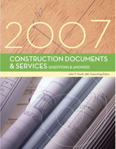 9781419596674: Construction Documents & Services Questions & Answers, 2007 Edition