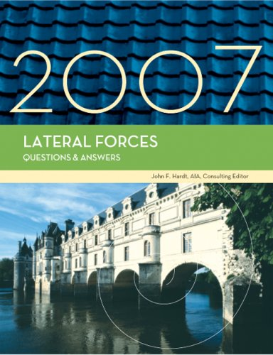 9781419596698: Lateral Forces Questions & Answers, 2007 Edition