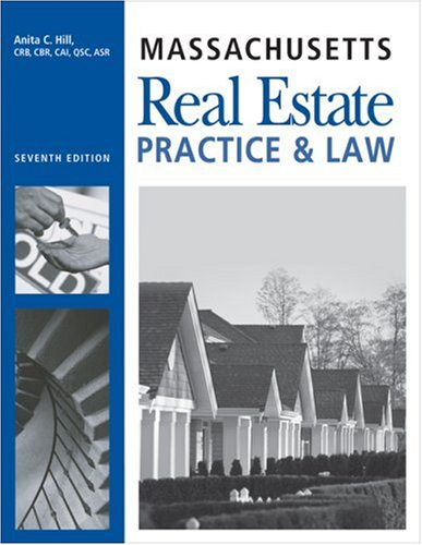 9781419596834: Massachusetts Real Estate: Practice and Law 7th Edition