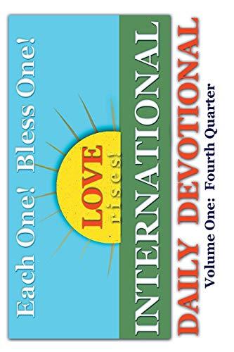9781419611452: International Daily Devotional: Fourth Quarter