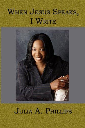 9781419620348: When Jesus Speaks, I Write