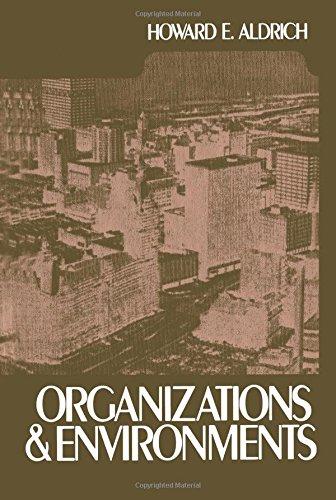 9781419629020: Organizations and Environments