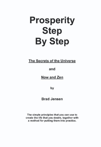 9781419639210: Prosperity Step by Step: The Secrets of the Universe
