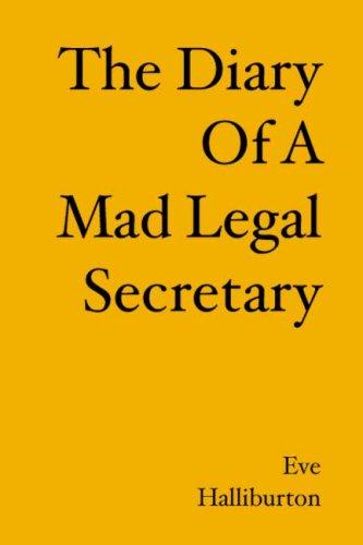 The Diary of a Mad Legal Secretary: Halliburton, Eve