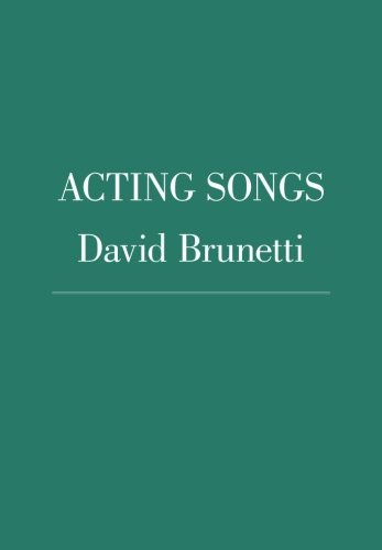 9781419651984: Acting Songs