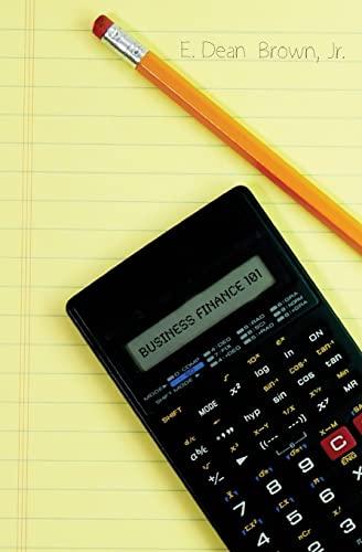 9781419655784: Business Finance 101