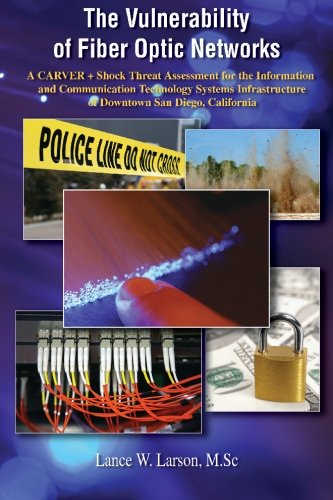 9781419658969: The Vulnerability of Fiber Optic Networks: A CARVER + Shock Threat Assessment for the Information and Communication Technology Systems Infrastructure of Downtown San Diego, California