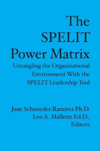9781419671913: The Spelit Power Matrix: Untangling The Organizational Environment With The Spelit Leadership Tool