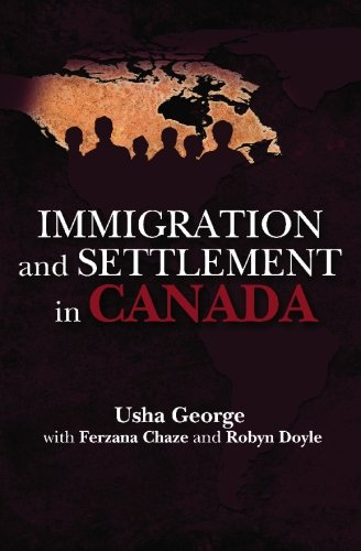 9781419674525: Immigration And Settlement In Canada