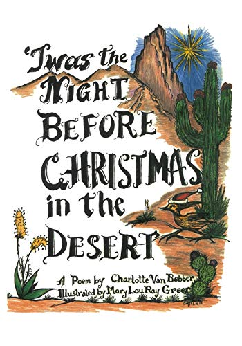 9781419690822: Twas the Night Before Christmas in the Desert