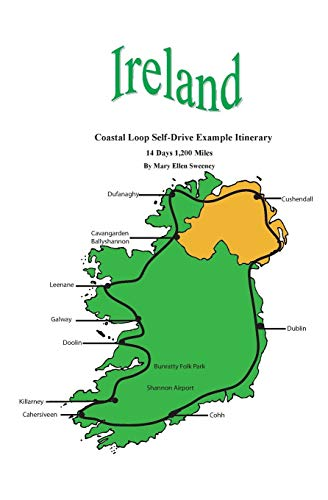 9781419690976: Ireland Coastal Loop Self-Drive Example Itinerary