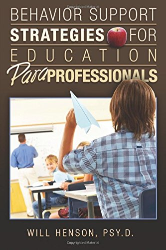 9781419696121: Behavior Support Strategies for Education Paraprofessionals