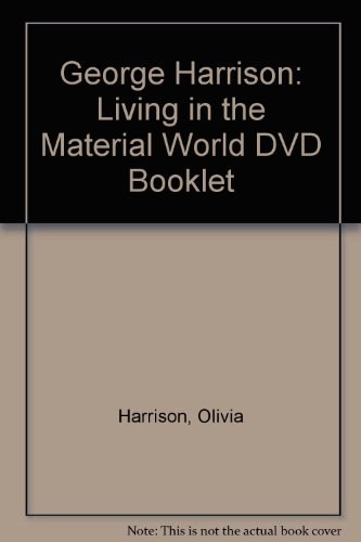 9781419702976: George Harrison: Living in the Material World DVD Booklet