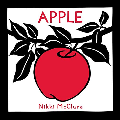 "Apple (Hardback) 9781419703782 Apple follows the life of an apple throughout the year, demonstrating the cyclical patterns in nature. The youngest readers will delight in following the journey of the bright red apple—the only splash of color in the otherwise black-and-white illustrations—as it travels from tree, to harvest, to snack, to compost, and finally to sprout. A single word complements each illustration, urging early readers to reflect on each stage in the apple's life. Apple is acclaimed cut-paper artist Nikki McClure's very first book, originally self-published and sold in a limited edition of just 200 copies. Now, 16 years later, it is available in wide release, and fans will relish the chance to own the book that launched McClure's signature style. Praise for Apple STARRED REVIEW  Run your fingers across this satisfyingly square book's cover and feel the subtle, smooth outlines of a ripe apple and simple letters. You'll immediately sense the solid, soothing storytelling at work inside, achieved through astute manipulations of paper.  —Kirkus Reviews, starred review  The art is gorgeous, the text is one-word-per-page minimal and the ""story"" is sprinkled with welcome surprises.  —The New York Times Book Review  The emphasis on the cycle of life makes this a useful classroom and library addition.  —School Library Journal"