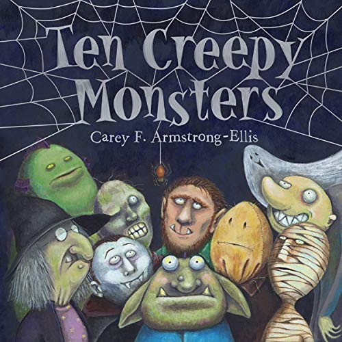 9781419704338: Ten Creepy Monsters