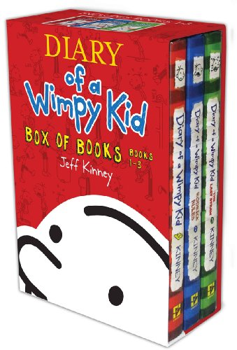 9781419707667: Diary of a Wimpy Kid Box of Books, Books 1-3: Diary of a Wimpy Kid/Rodrick Rules/The Last Straw