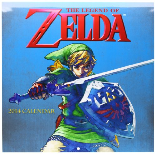9781419707803: The Legend of Zelda 2014 Wall Calendar (Wall Calendars)