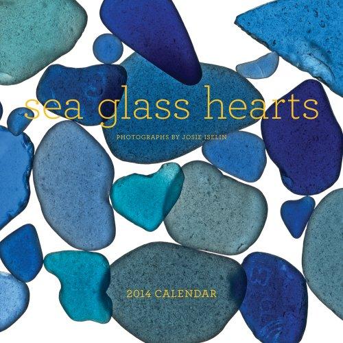 9781419709173: Sea Glass Hearts 2014 Wall Calendar