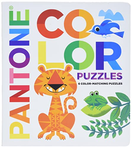 9781419709395: Pantone: Color Puzzles: 6 Color-Matching Puzzles