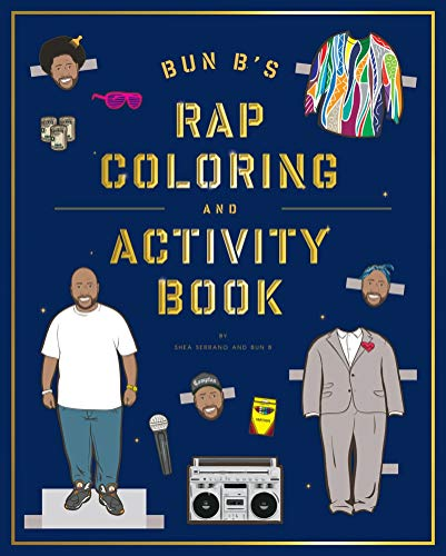 9781419710414: Bun B's Rapper Coloring and Activity Book