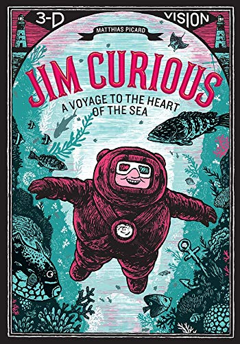 9781419710438: Jim Curious: A Voyage to the Heart of the Sea