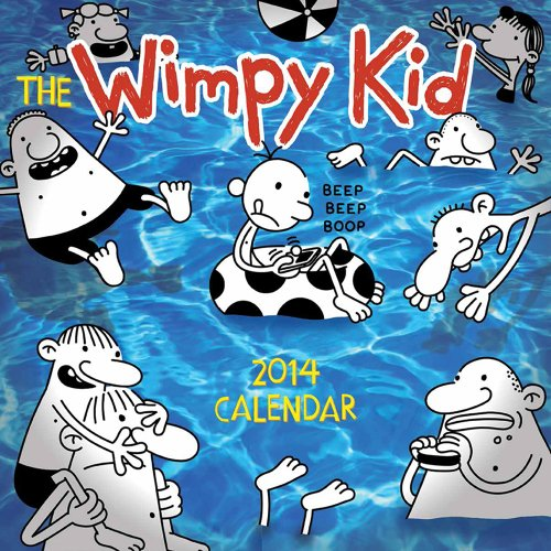 9781419710445: The Wimpy Kid 2014 Wall Calendar